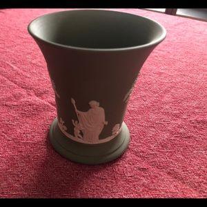 Small Ceramic Vase, Green Ceramic Vase
